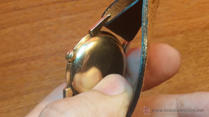 Relojes automáticos: Reloj de los primeros Longines automático de caballero del año 1952, calibre 19as - Foto 46 - 66126494