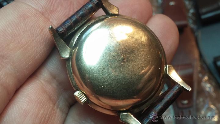 Relojes automáticos: Reloj de los primeros Longines automático de caballero del año 1952, calibre 19as - Foto 47 - 66126494