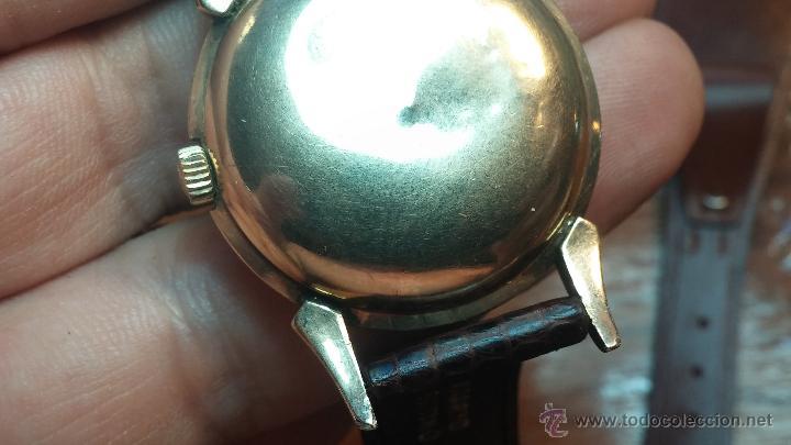 Relojes automáticos: Reloj de los primeros Longines automático de caballero del año 1952, calibre 19as - Foto 48 - 66126494