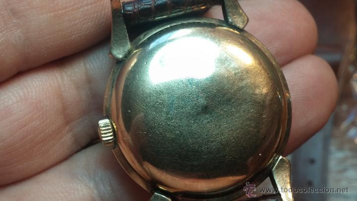 Relojes automáticos: Reloj de los primeros Longines automático de caballero del año 1952, calibre 19as - Foto 49 - 66126494