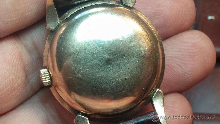 Relojes automáticos: Reloj de los primeros Longines automático de caballero del año 1952, calibre 19as - Foto 50 - 66126494