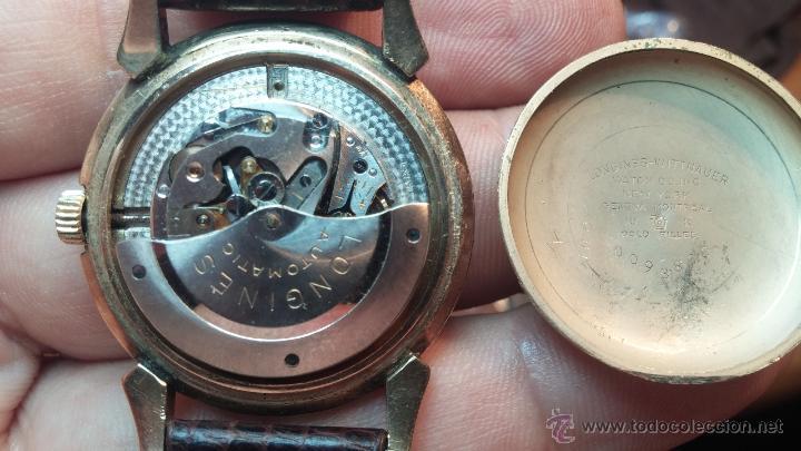 Relojes automáticos: Reloj de los primeros Longines automático de caballero del año 1952, calibre 19as - Foto 54 - 66126494