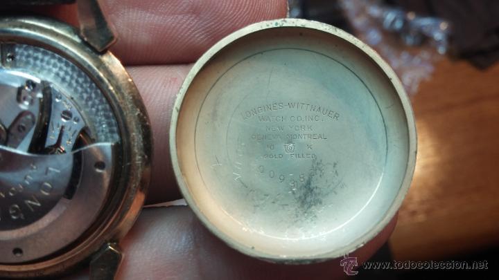 Relojes automáticos: Reloj de los primeros Longines automático de caballero del año 1952, calibre 19as - Foto 55 - 66126494