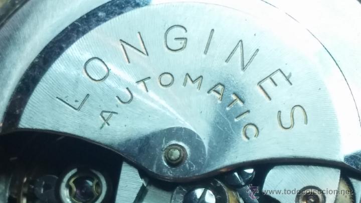 Relojes automáticos: Reloj de los primeros Longines automático de caballero del año 1952, calibre 19as - Foto 57 - 66126494