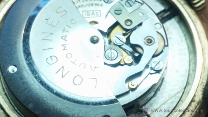 Relojes automáticos: Reloj de los primeros Longines automático de caballero del año 1952, calibre 19as - Foto 60 - 66126494