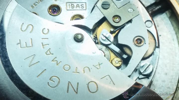 Relojes automáticos: Reloj de los primeros Longines automático de caballero del año 1952, calibre 19as - Foto 61 - 66126494
