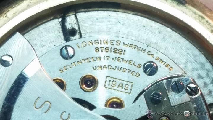 Relojes automáticos: Reloj de los primeros Longines automático de caballero del año 1952, calibre 19as - Foto 62 - 66126494