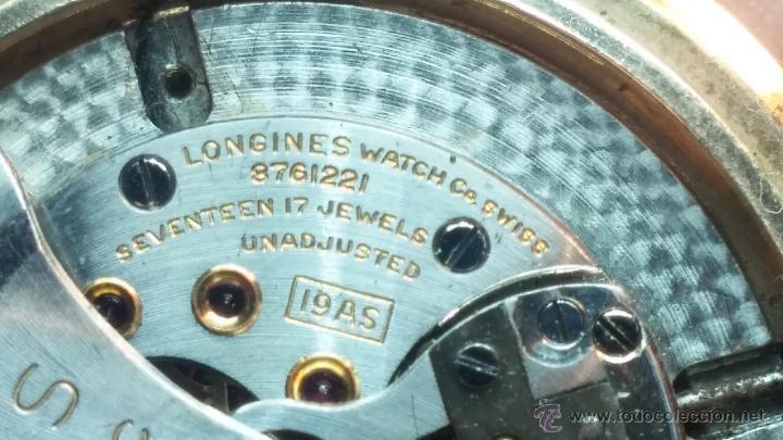 Relojes automáticos: Reloj de los primeros Longines automático de caballero del año 1952, calibre 19as - Foto 64 - 66126494