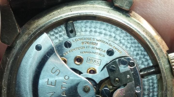 Relojes automáticos: Reloj de los primeros Longines automático de caballero del año 1952, calibre 19as - Foto 65 - 66126494