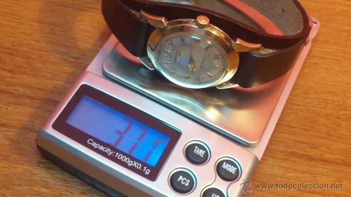 Relojes automáticos: Reloj de los primeros Longines automático de caballero del año 1952, calibre 19as - Foto 66 - 66126494