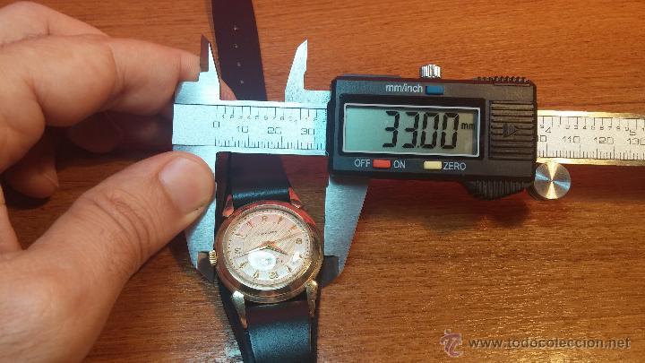 Relojes automáticos: Reloj de los primeros Longines automático de caballero del año 1952, calibre 19as - Foto 69 - 66126494