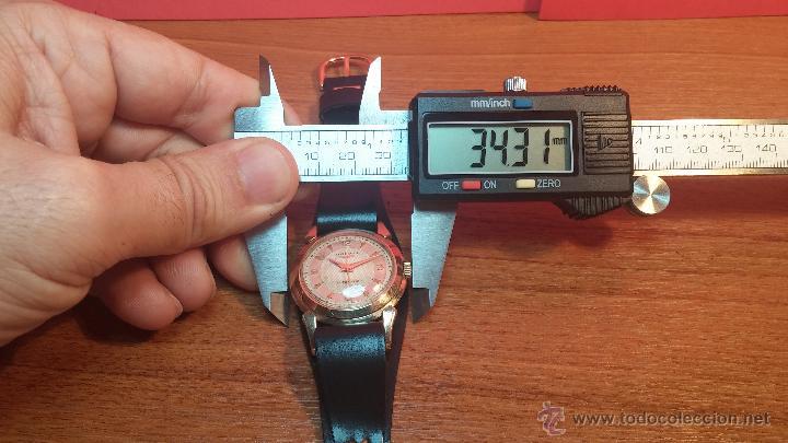 Relojes automáticos: Reloj de los primeros Longines automático de caballero del año 1952, calibre 19as - Foto 70 - 66126494