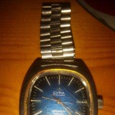 Relojes automáticos: RELOJ CYMA SYNCHRON CONQUISTADOR AUTOMATIC FUNCIONA ARMIS ORIGINAL METAL VINTAGE 1920-1970. Lote 49438722