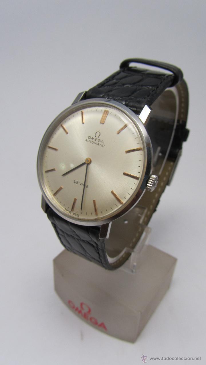 RELOJ CABALLERO OMEGA DE VILLE AÑOS 60/70. (Relojes - Relojes Automáticos)