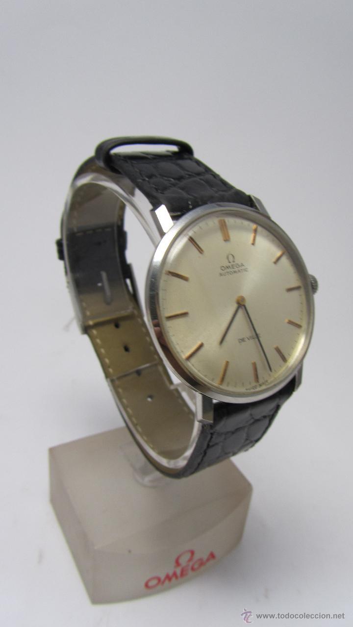Relojes automáticos: Reloj Caballero Omega de Ville años 60/70. - Foto 2 - 53426512