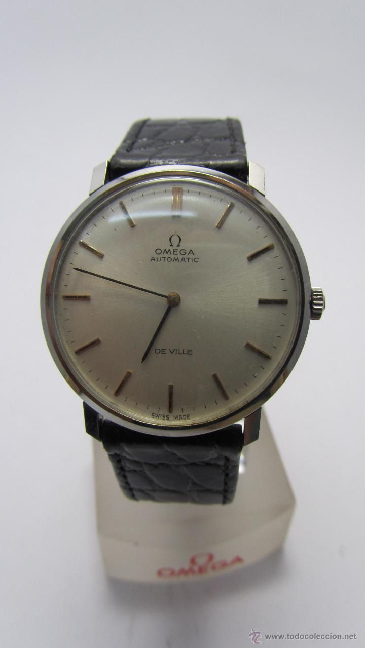 Relojes automáticos: Reloj Caballero Omega de Ville años 60/70. - Foto 3 - 53426512