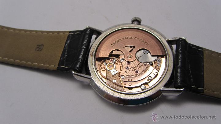 Relojes automáticos: Reloj Caballero Omega de Ville años 60/70. - Foto 7 - 53426512