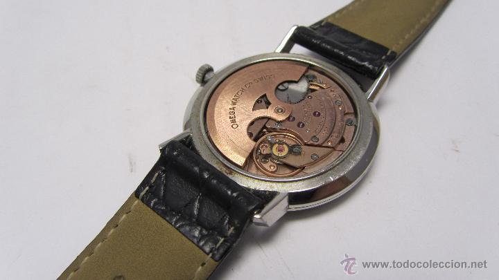 Relojes automáticos: Reloj Caballero Omega de Ville años 60/70. - Foto 8 - 53426512