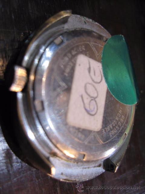 Relojes automáticos: Reloj de caballero ovalado marca Cristal Watch calendario - funcionando 42 x 37 mm. - Foto 5 - 50150779