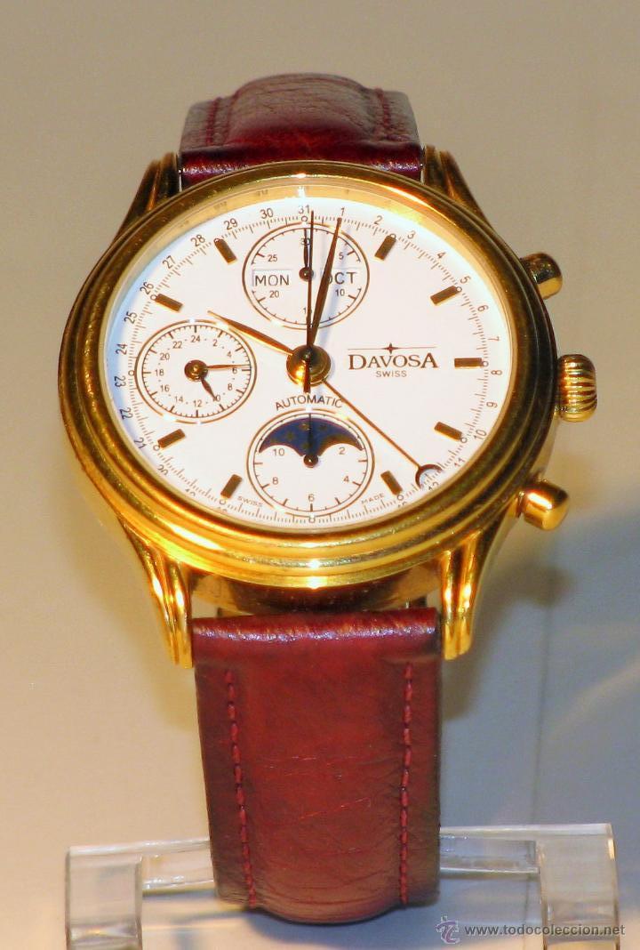 c914fba3e24b Reloj clasico suizo davosa