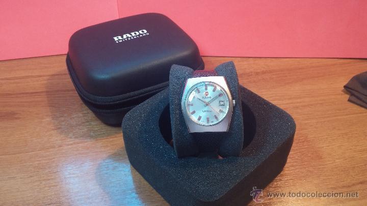 Relojes automáticos: Reloj deportivo vintage de 1970 RADO CONWAY AUTOMATICO CAL. 308 - Foto 5 - 51482517