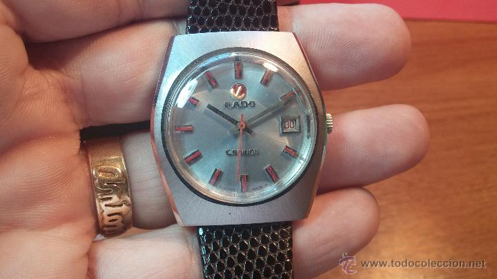 Relojes automáticos: Reloj deportivo vintage de 1970 RADO CONWAY AUTOMATICO CAL. 308 - Foto 6 - 51482517