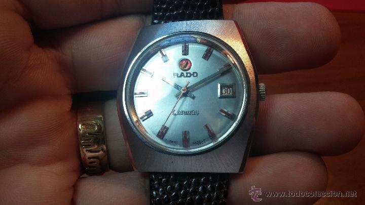 Relojes automáticos: Reloj deportivo vintage de 1970 RADO CONWAY AUTOMATICO CAL. 308 - Foto 7 - 51482517
