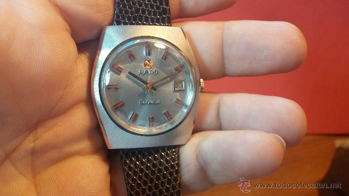 Relojes automáticos: Reloj deportivo vintage de 1970 RADO CONWAY AUTOMATICO CAL. 308 - Foto 8 - 51482517