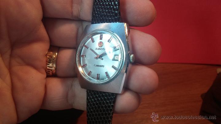 Relojes automáticos: Reloj deportivo vintage de 1970 RADO CONWAY AUTOMATICO CAL. 308 - Foto 9 - 51482517