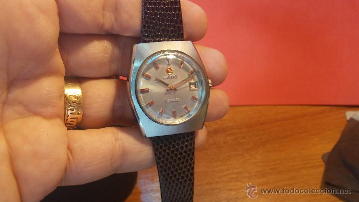 Relojes automáticos: Reloj deportivo vintage de 1970 RADO CONWAY AUTOMATICO CAL. 308 - Foto 10 - 51482517