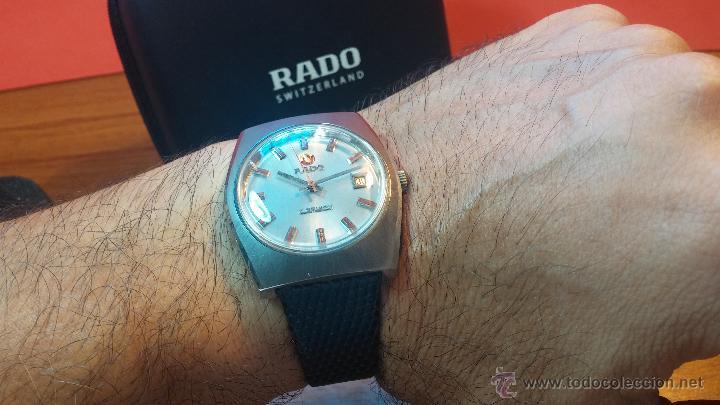 Relojes automáticos: Reloj deportivo vintage de 1970 RADO CONWAY AUTOMATICO CAL. 308 - Foto 11 - 51482517