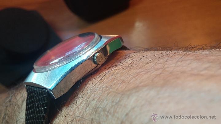 Relojes automáticos: Reloj deportivo vintage de 1970 RADO CONWAY AUTOMATICO CAL. 308 - Foto 12 - 51482517