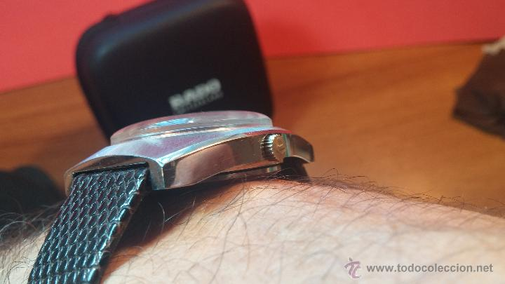 Relojes automáticos: Reloj deportivo vintage de 1970 RADO CONWAY AUTOMATICO CAL. 308 - Foto 13 - 51482517