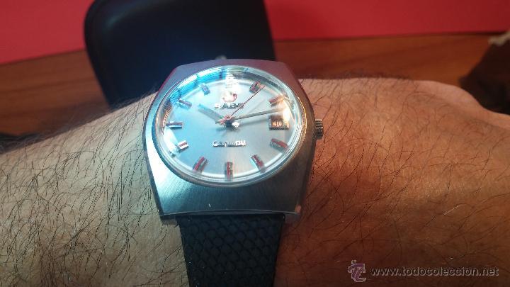 Relojes automáticos: Reloj deportivo vintage de 1970 RADO CONWAY AUTOMATICO CAL. 308 - Foto 14 - 51482517