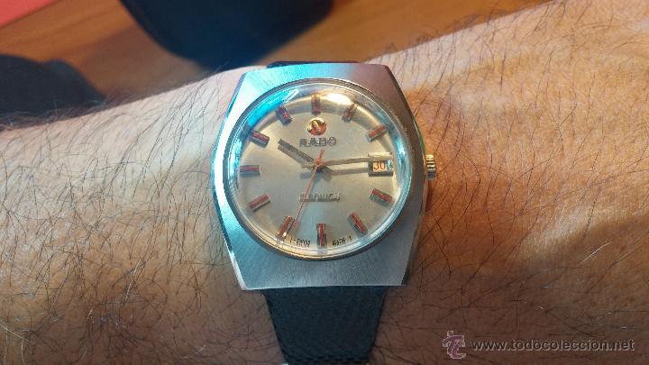 Relojes automáticos: Reloj deportivo vintage de 1970 RADO CONWAY AUTOMATICO CAL. 308 - Foto 18 - 51482517