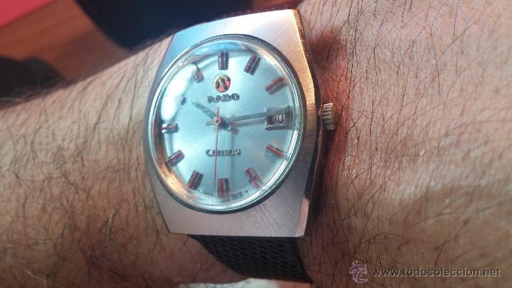 Relojes automáticos: Reloj deportivo vintage de 1970 RADO CONWAY AUTOMATICO CAL. 308 - Foto 19 - 51482517