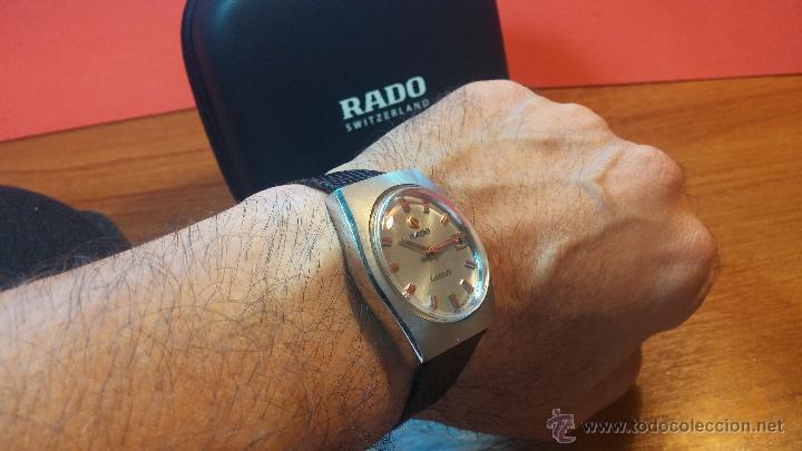 Relojes automáticos: Reloj deportivo vintage de 1970 RADO CONWAY AUTOMATICO CAL. 308 - Foto 20 - 51482517