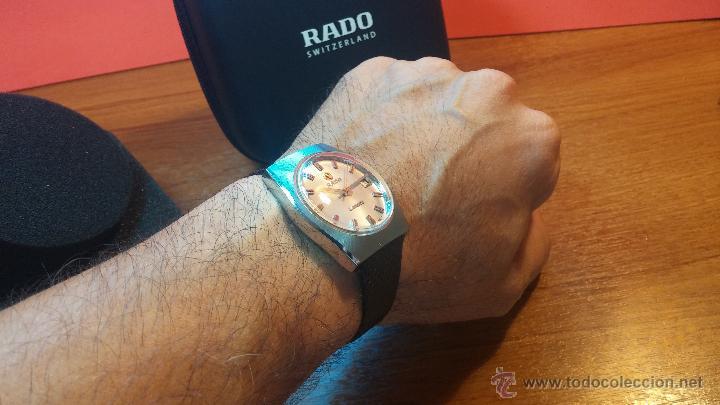 Relojes automáticos: Reloj deportivo vintage de 1970 RADO CONWAY AUTOMATICO CAL. 308 - Foto 22 - 51482517