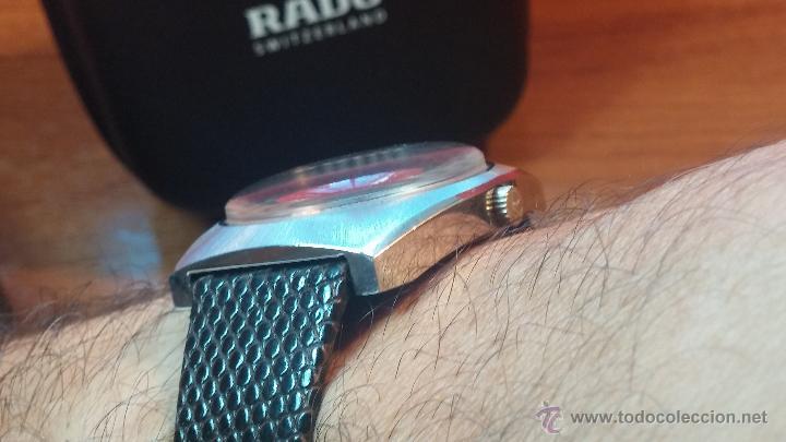 Relojes automáticos: Reloj deportivo vintage de 1970 RADO CONWAY AUTOMATICO CAL. 308 - Foto 23 - 51482517