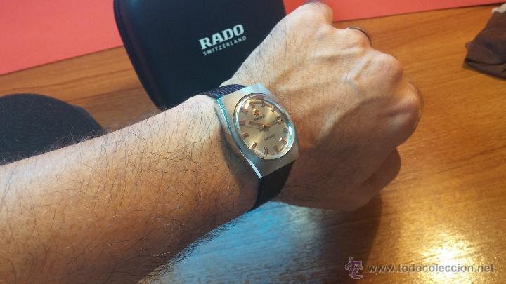 Relojes automáticos: Reloj deportivo vintage de 1970 RADO CONWAY AUTOMATICO CAL. 308 - Foto 29 - 51482517
