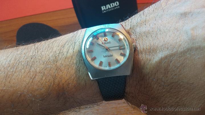 Relojes automáticos: Reloj deportivo vintage de 1970 RADO CONWAY AUTOMATICO CAL. 308 - Foto 30 - 51482517