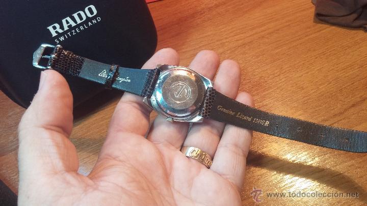 Relojes automáticos: Reloj deportivo vintage de 1970 RADO CONWAY AUTOMATICO CAL. 308 - Foto 31 - 51482517