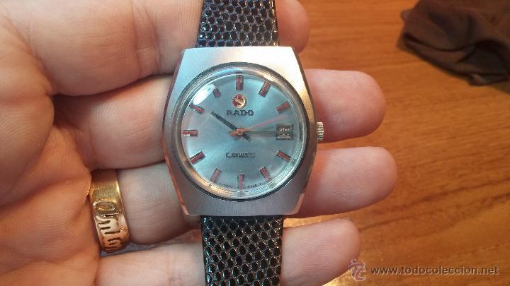Relojes automáticos: Reloj deportivo vintage de 1970 RADO CONWAY AUTOMATICO CAL. 308 - Foto 32 - 51482517