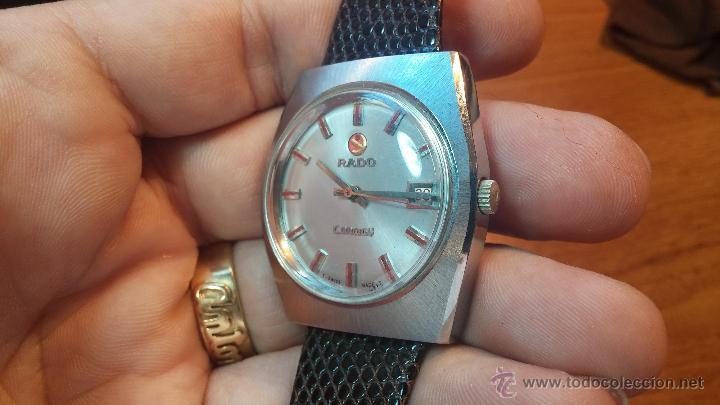 Relojes automáticos: Reloj deportivo vintage de 1970 RADO CONWAY AUTOMATICO CAL. 308 - Foto 33 - 51482517