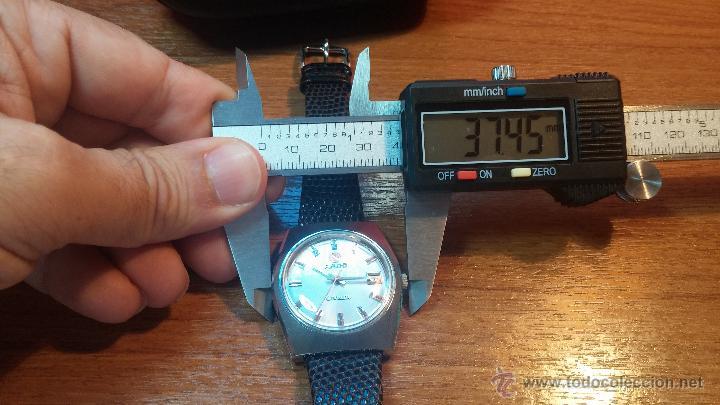 Relojes automáticos: Reloj deportivo vintage de 1970 RADO CONWAY AUTOMATICO CAL. 308 - Foto 39 - 51482517