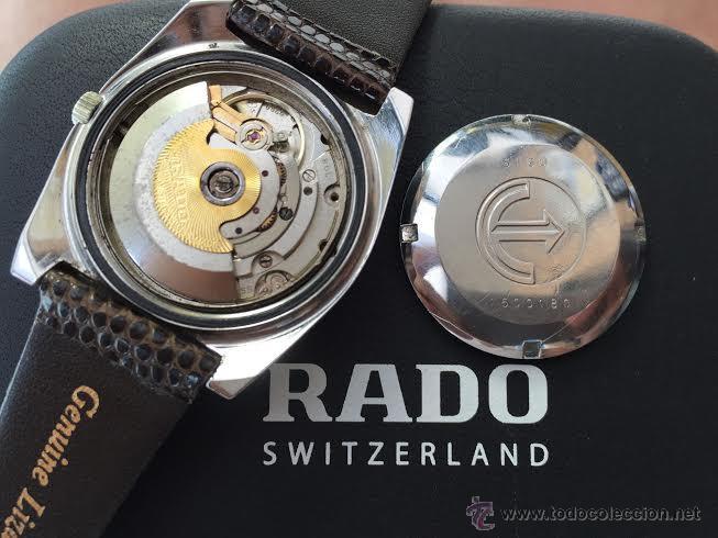 Relojes automáticos: Reloj deportivo vintage de 1970 RADO CONWAY AUTOMATICO CAL. 308 - Foto 40 - 51482517