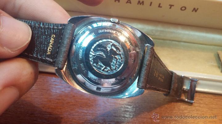 Relojes automáticos: PRIMER MODELO de la prestigiosa serie del reloj HAMILTON PAN-EUROP, el caballito alado, años 60 - Foto 4 - 51483589