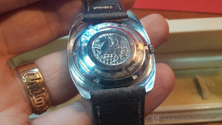 Relojes automáticos: PRIMER MODELO de la prestigiosa serie del reloj HAMILTON PAN-EUROP, el caballito alado, años 60 - Foto 5 - 51483589