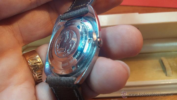 Relojes automáticos: PRIMER MODELO de la prestigiosa serie del reloj HAMILTON PAN-EUROP, el caballito alado, años 60 - Foto 6 - 51483589