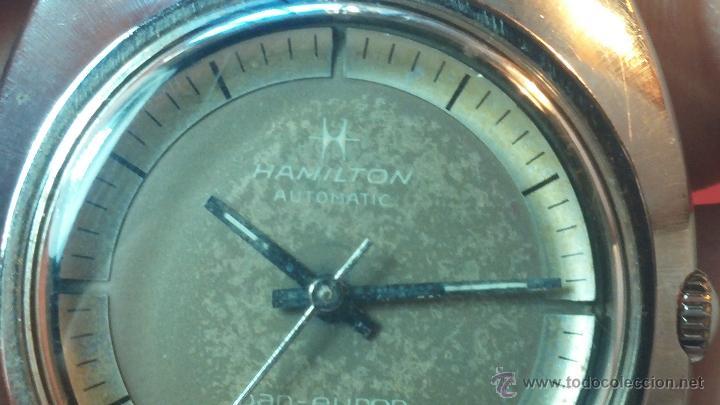 Relojes automáticos: PRIMER MODELO de la prestigiosa serie del reloj HAMILTON PAN-EUROP, el caballito alado, años 60 - Foto 7 - 51483589